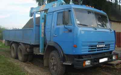 Манипулятор услуги аренда - Брянск