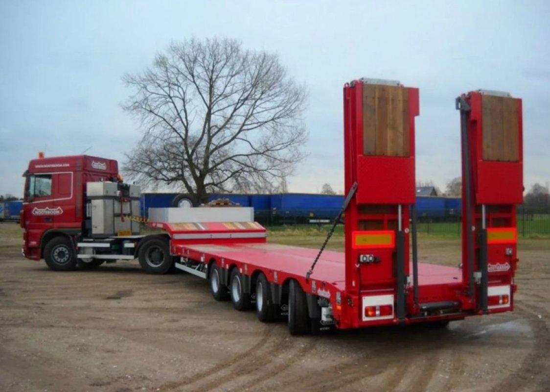 Прицеп Перевозка негабаритных грузов низкорамными полуприцепами по РФ заказать или взять в аренду, цены, предложения компаний